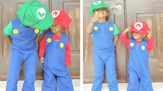 Easy Diy Mario Costume The Purposeful Nest