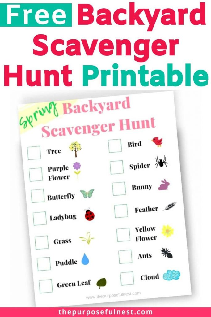 This is a photo of Printable Scavenger Hunt for Kids for zoo