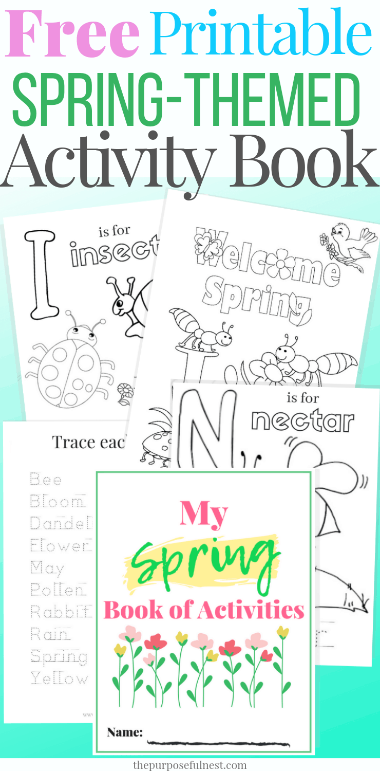 photo relating to Spring Printable known as Printable Spring Coloring Internet pages + Video game Reserve The