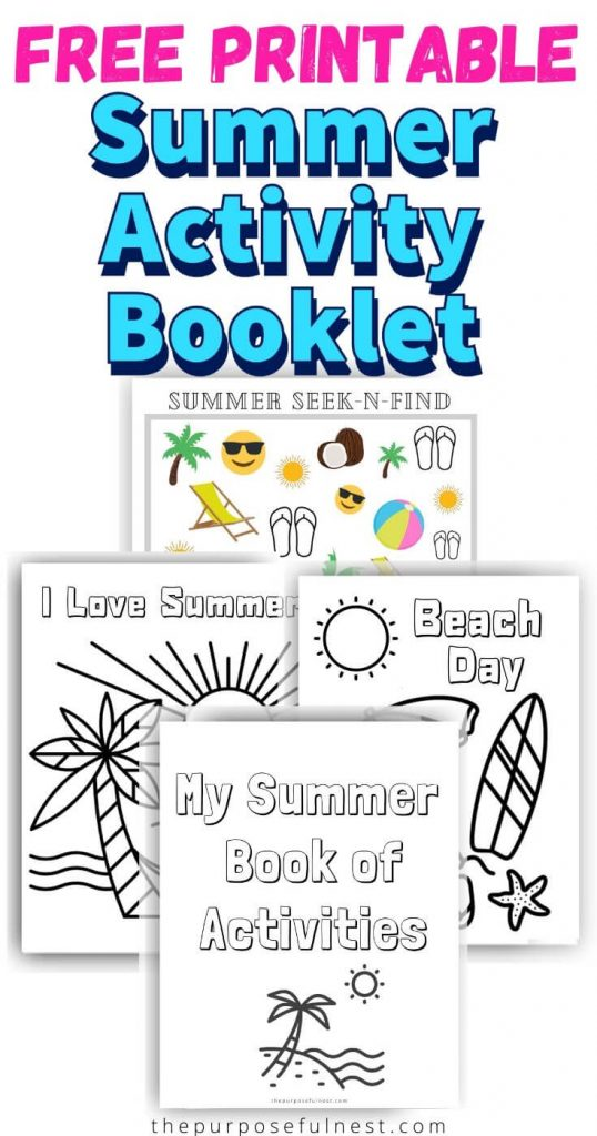 - Free Summer Coloring Pages For Preschoolers The Purposeful Nest