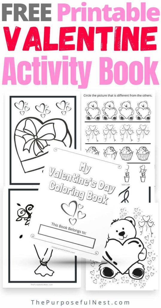 Free Valentine S Day Coloring Pages The Purposeful Nest